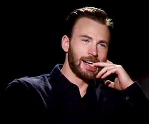 chris evans, gif, and handsome image