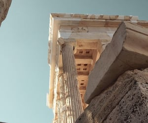 architecture, Greece, and photography image