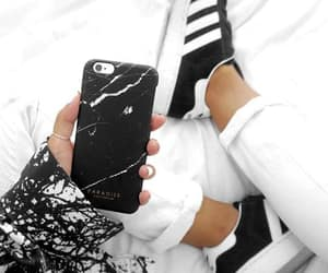 fashion, adidas, and iphone image