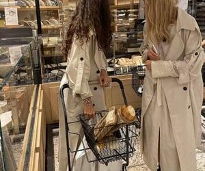 girl, aesthetic, and bakery image