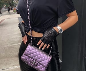 chanel and street style image