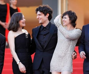 louis garrel, charlotte gainsbourg, and Marion Cotillard image