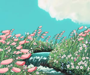 studio ghibli, anime, and art image