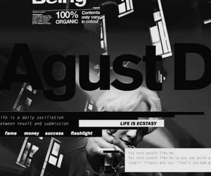 bts, suga, and agust d image