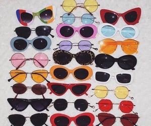 sunglasses, vintage, and 90s image