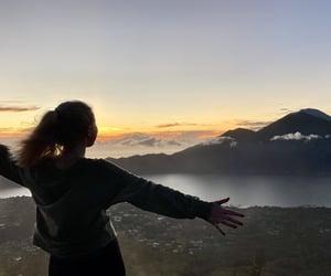 bali, climbing, and clouds image
