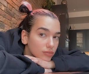 dua lipa, pink, and celebrity image