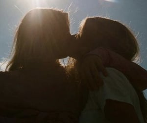 kissing, rp, and lesbian image
