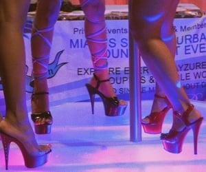 dancers, dancing, and heels image