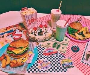 food, vintage, and pink image