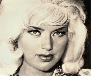 1964, blonde, and bombshell image