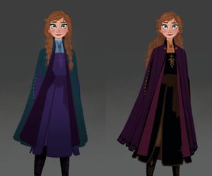 anna, frozen, and frozen 2 image