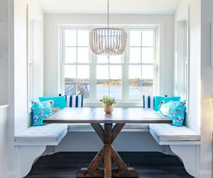 beach house, decor, and decorating image