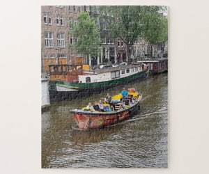 amsterdam, canals, and europe image
