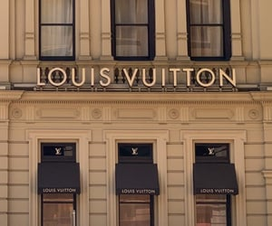 Louis Vuitton, luxury, and shop image