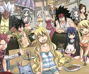 anime, gray, and Lucy image
