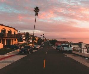 california and sunset image