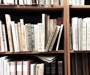 books, aesthetic, and library image