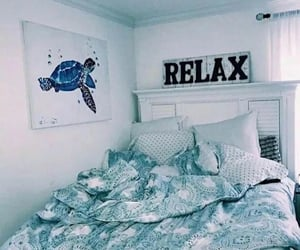 beach house, bedding, and cozy image