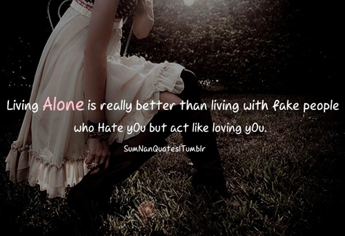 Girl Alone Love Sad Quote Inspiring Picture On Favimcom