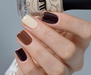 girly, nail polish, and mani image