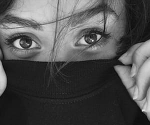 arabic, blackandwhite, and eyeliner image