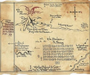 drawing, painting, and middleearth image