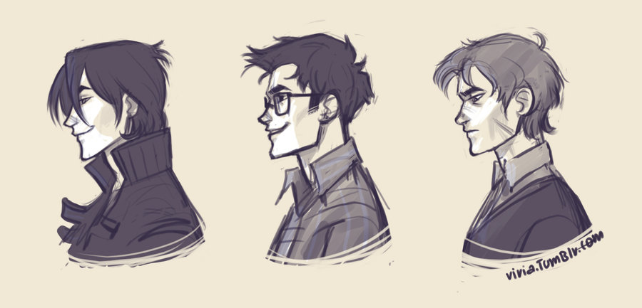 marauders profiles by *viria13 discovered by Silver