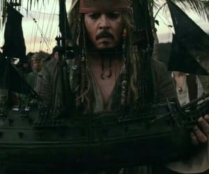 boat, johnny depp, and funny moments image