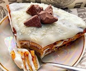 apple, chocolate, and dessert image