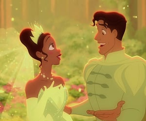 couple, disney, and the Princess and the frog image