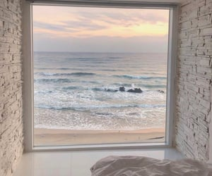 architecture, bathroom, and beach image
