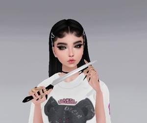 girl, imvu, and profile image