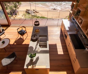 kitchen, beach, and home image