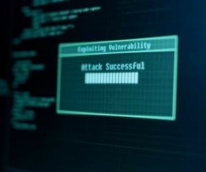 attack, black, and hacking image