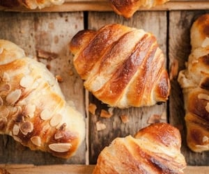 bread, food, and fresh image