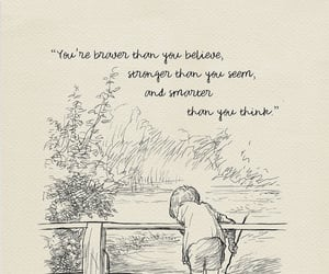 quote, winnie the pooh, and love image