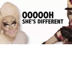 different, drag, and Queen image