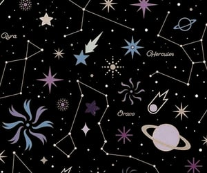 sky, space, and yıldızlar image