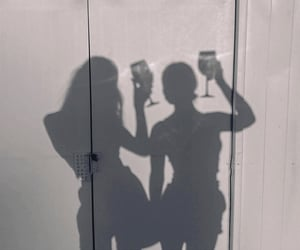 drinks, fun, and shadows image