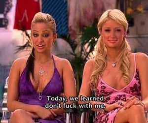 paris hilton, quotes, and funny image