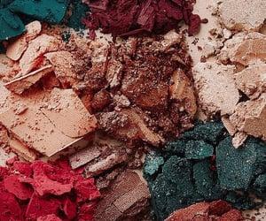colors, wallpaper, and makeup image