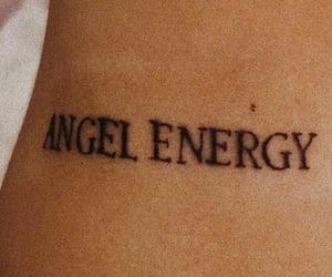 angel, fonts, and Hallo image