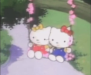 adorable, aesthetic, and hello kitty image