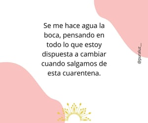 amor, frases, and cuarentena image