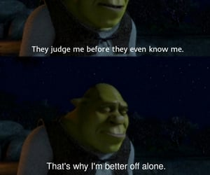 movies, shrek, and movie quotes image