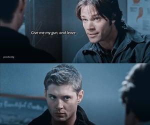 dean winchester, spn, and tv show image