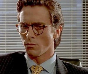 actor, american psycho, and christian bale image