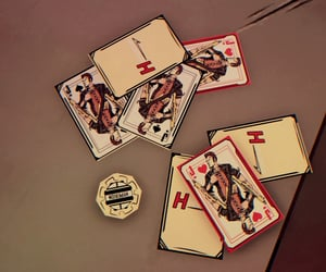 cards, h, and playing cards image