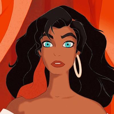 disney and esmeralda image